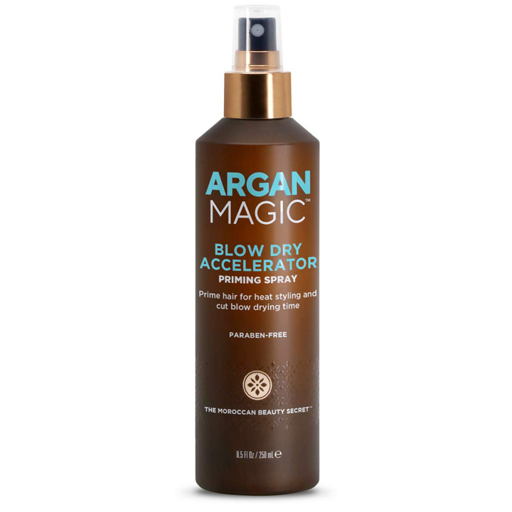 Xịt dưỡng tóc Argan Magic Blow Dry Accelerator Priming Spray, 250ml