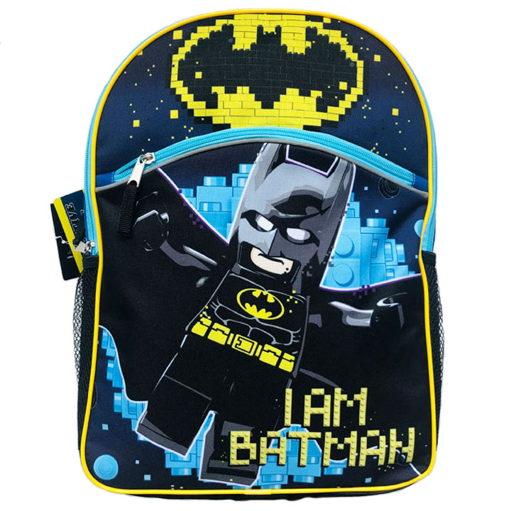 Balo Fast Forward NY Lego DC Batman - Blue/ Black Multi