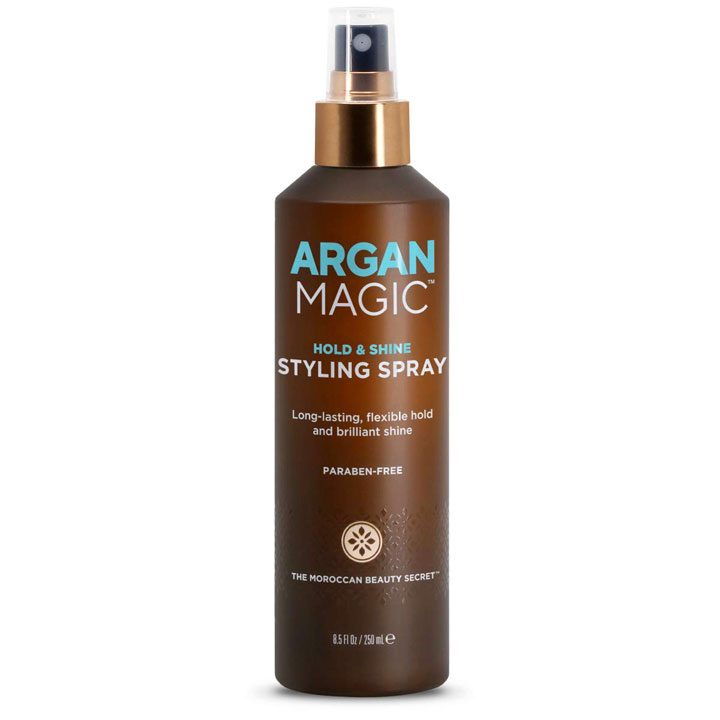 Xịt dưỡng tóc Argan Magic Hold & Shine Styling Spray, 250ml