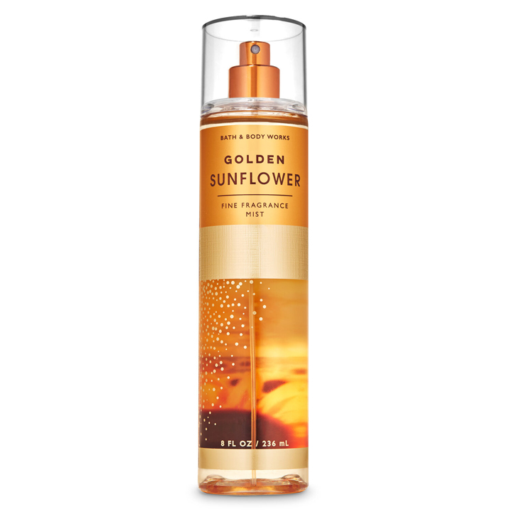 Xịt thơm toàn thân Bath & Body Works - Golden Sunflower, 236ml