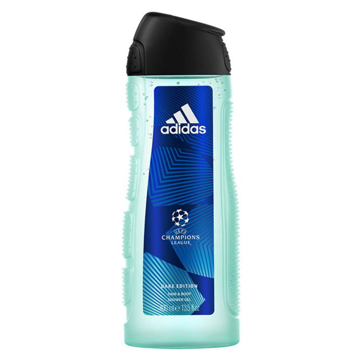 Gel tắm + gội Adidas UEFA Champions League Dare Edition for Men, 400ml