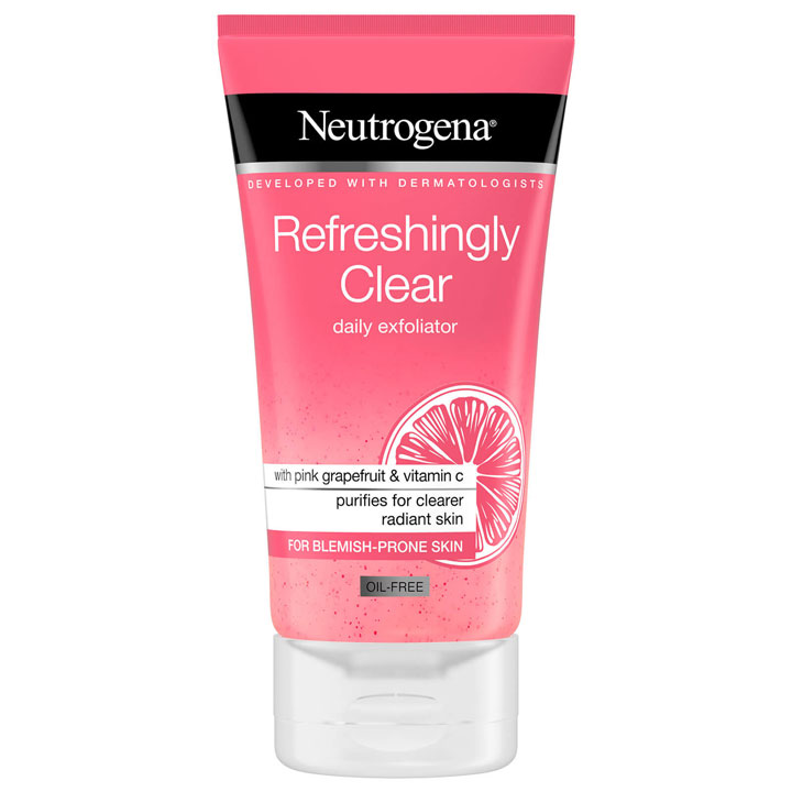 Rửa mặt Neutrogena Refreshingly Clear Daily Exfoliator, 150ml
