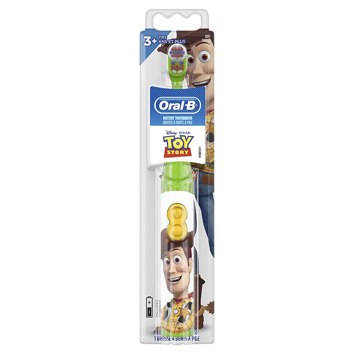 Bàn chải pin Oral-B Kids Disney Pixar Toy Story
