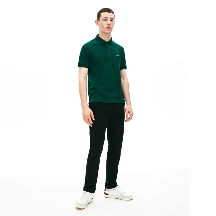 Lacoste Classic Fit L.12.12 Polo Shirt - Green, size 4/M