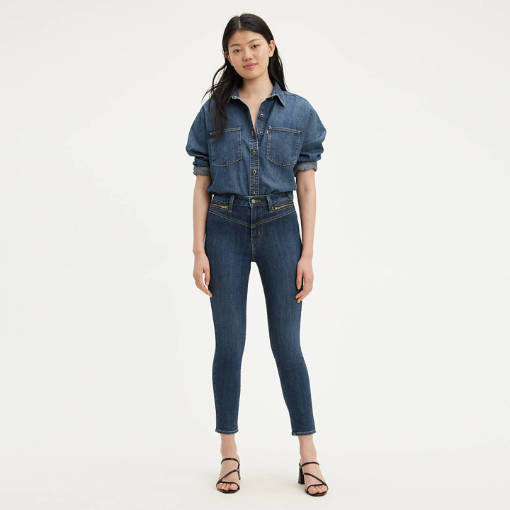 Levi's 721 High Rise Ankle Skinny Women's Jeans, Size 26