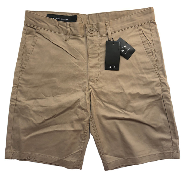 Armani Exchange Khaki Short - Tan, size 34