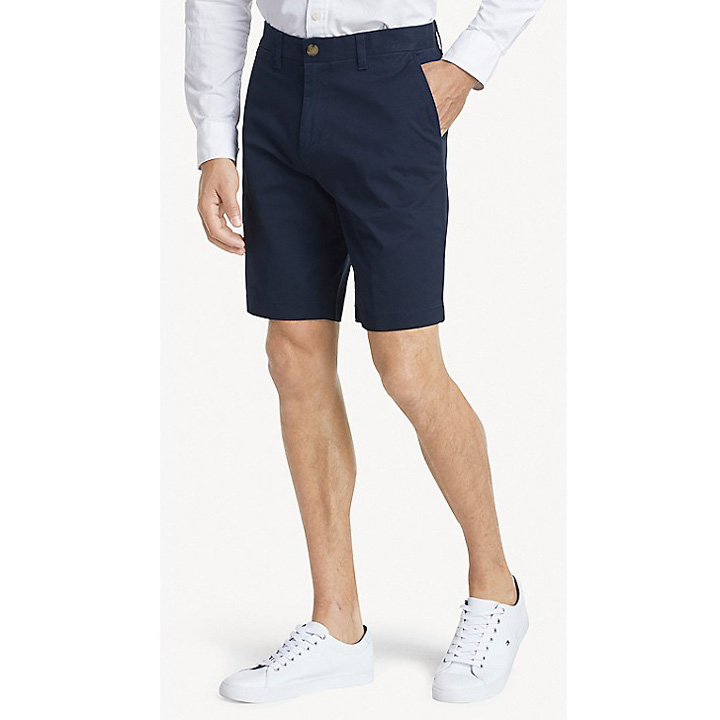 "Tommy Hilfiger Essential 9"" Short - Navy, Size 32"