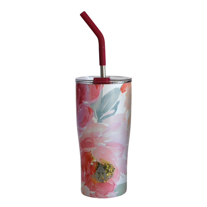 Ly giữ nhiệt Heritage - Pink Floral, 590ml