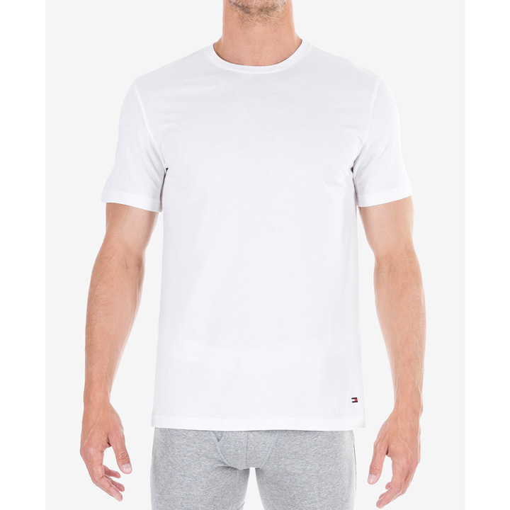 Set 3 áo Tommy Hilfiger Classic Fit Crew Neck Tee - White, Size S