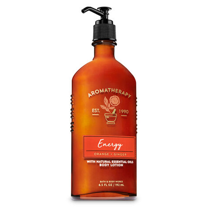 Lotion dưỡng da Bath & Body Works Aromatherapy - Energy Orange Ginger, 192ml