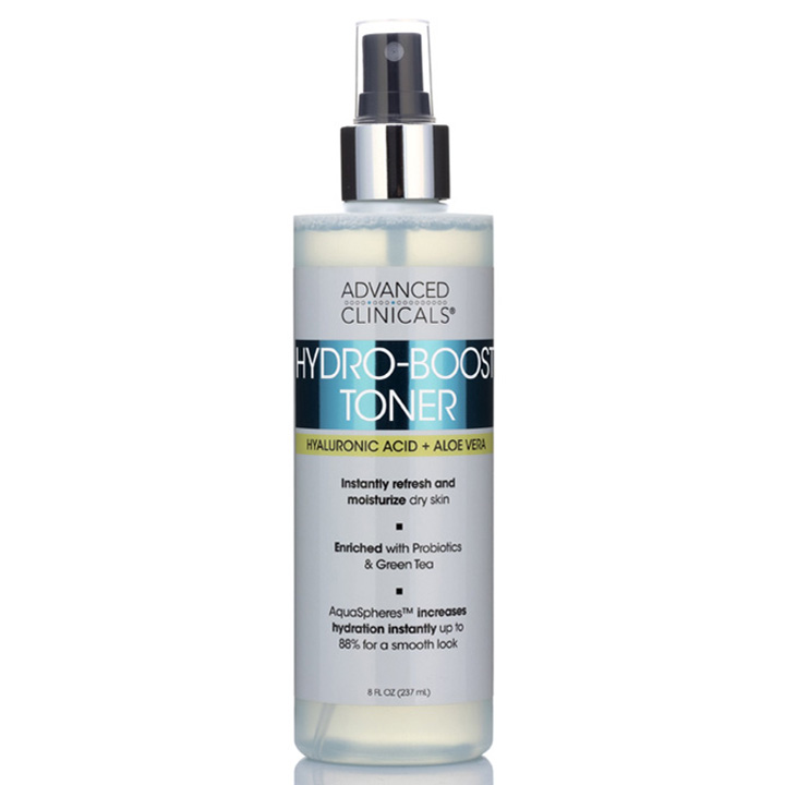 Advanced Clinicals Hydro-Boost Toner, 237ml