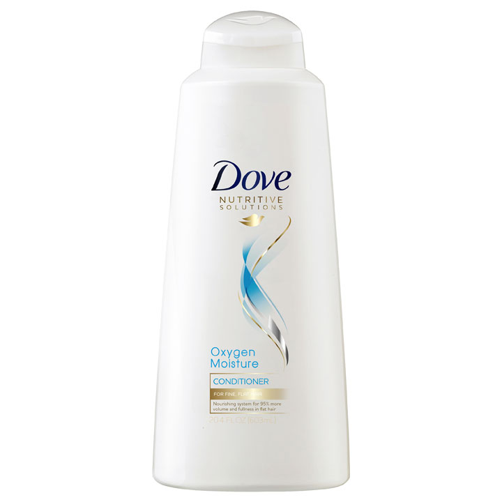 Dầu xả Dove Nutritive Solutions Oxygen Moisture, 603ml