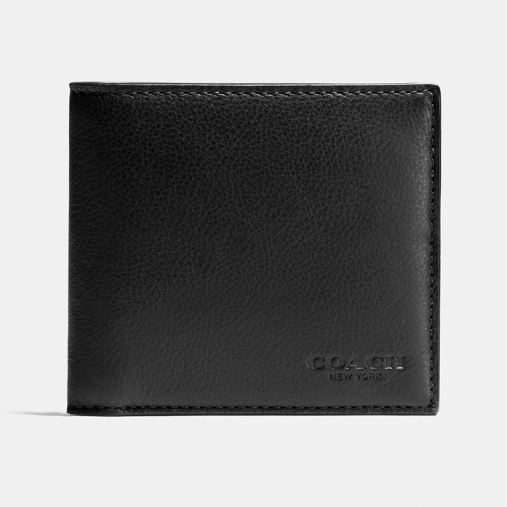 Ví Coach Double Billfold, Black