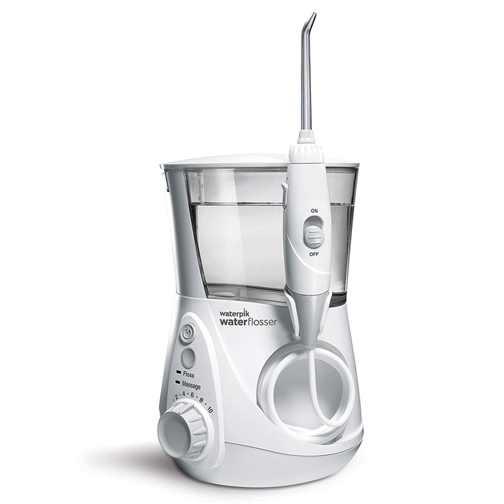 Máy tăm nước Waterpik WP-660 Water Flosser Aquarius Professional, White