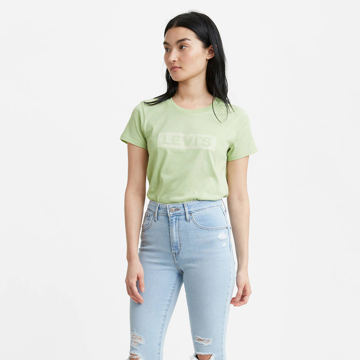 Áo thun Levi's The Perfect - Mint Green, Size S