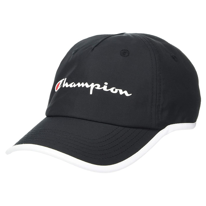 Champion Women's Baseball Cap, Black/ White