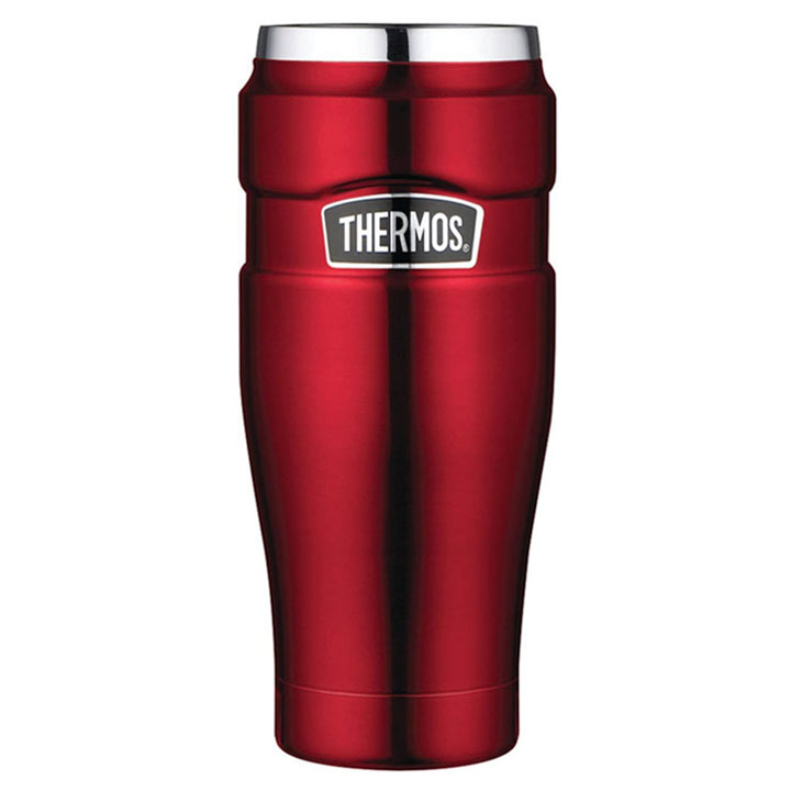 Ly giữ nhiệt Thermos Stainless Steel King Travel Tumbler - Cranberry, 470ml