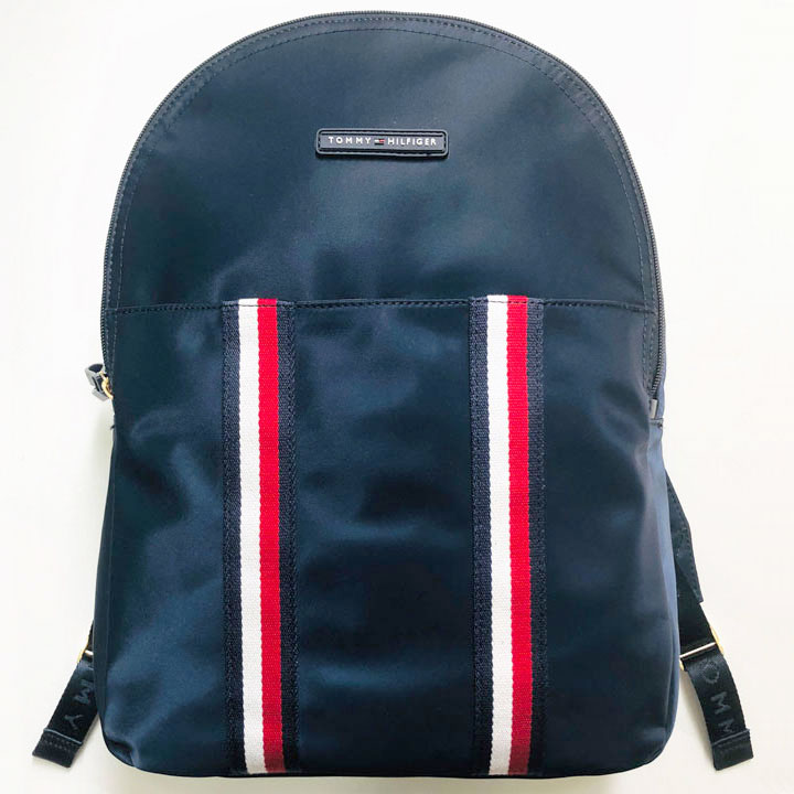 Balo Tommy Hilfiger Double Striped Logo, Navy