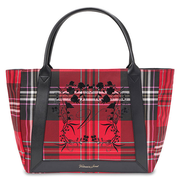 Túi Victoria's Secret Plaid Tote