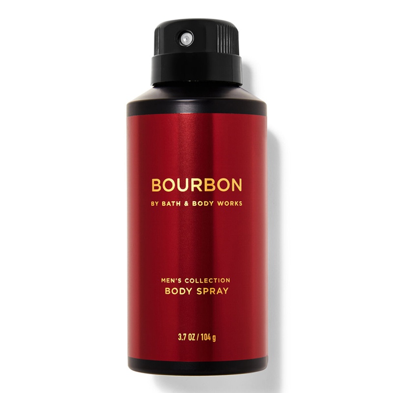 Xịt khử mùi toàn thân Bath & Body Works Men's Collection - Bourbon, 104g