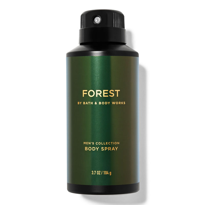 Xịt khử mùi toàn thân Bath & Body Works Men's Collection - Forest, 104g