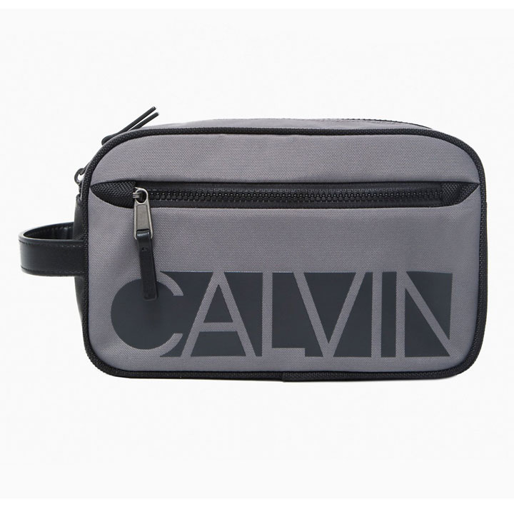 Túi Calvin Klein Essential Nylon Dopp Kit, Grey