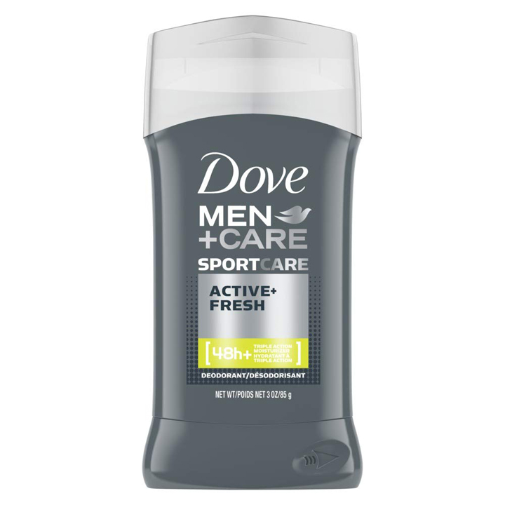 Khử mùi Dove Men + Care Sportcare 48h - Active Fresh, 85g