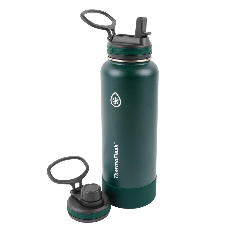 Bình giữ nhiệt Thermoflask Stainless Steel - Green, 1.182L