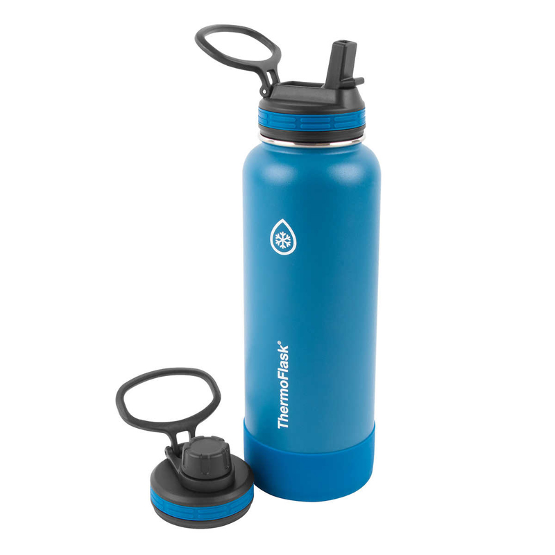 Bình giữ nhiệt Thermoflask Stainless Steel - Blue, 1.182L