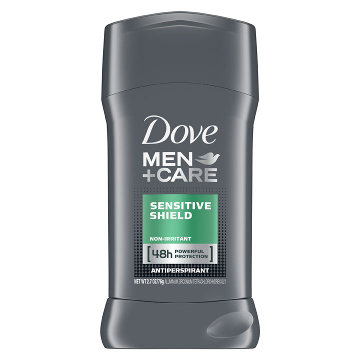 Khử mùi Dove Men + Care 48h - Sensitive Shield, 76g