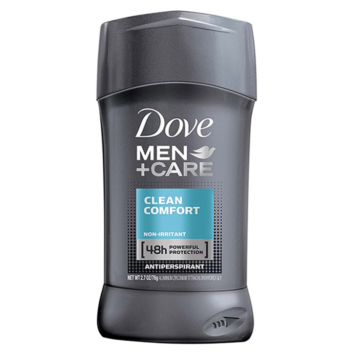 Khử mùi Dove Men + Care 48h - Clean Comfort, 76g