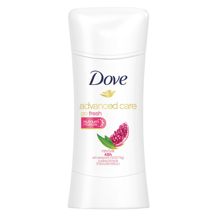 Khử mùi Dove Advanced Care Go Fresh, 74g
