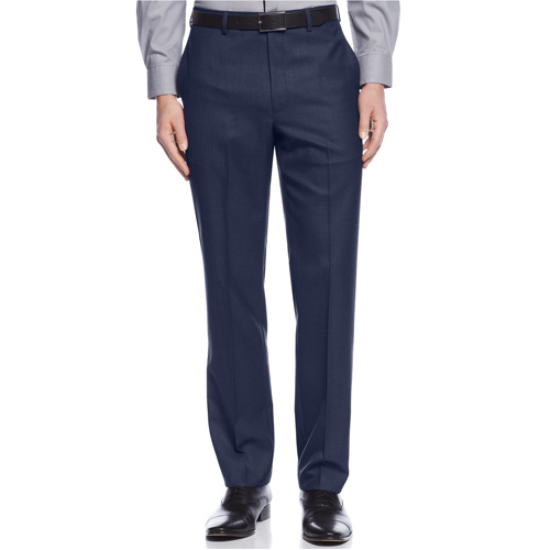 Calvin Klein Slim-Fit Solid Dress Pants - Navy, size 30x30