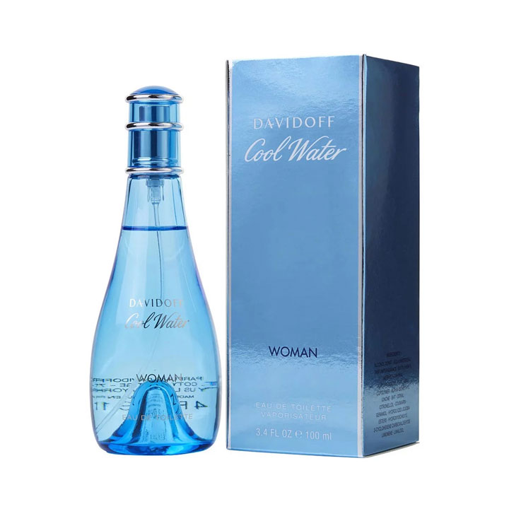 Davidoff Cool Water Woman - Eau de Toilette 100ml