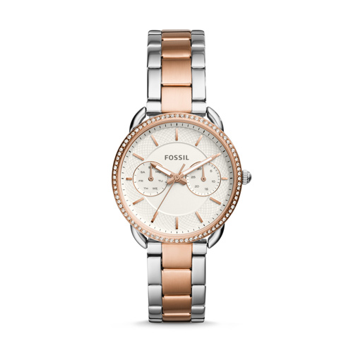 Fossil Tailor Multifunction Two-Tone Stainless Steel Watch