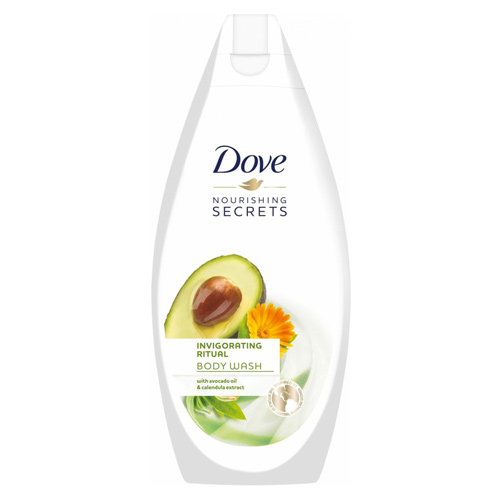 Dove Nourishing Secrets Invigorating Ritual Body Wash - Avocado Oil & Calendula Extract, 500ml