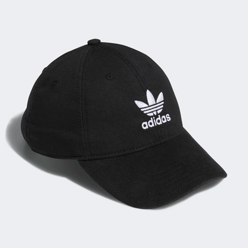 Adidas Men Originals Relaxed Strap Hat, Back/White