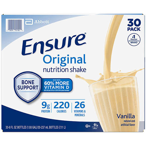 Ensure Original Nutrition Shake Ready to Drink - Vanilla, 30x237ml