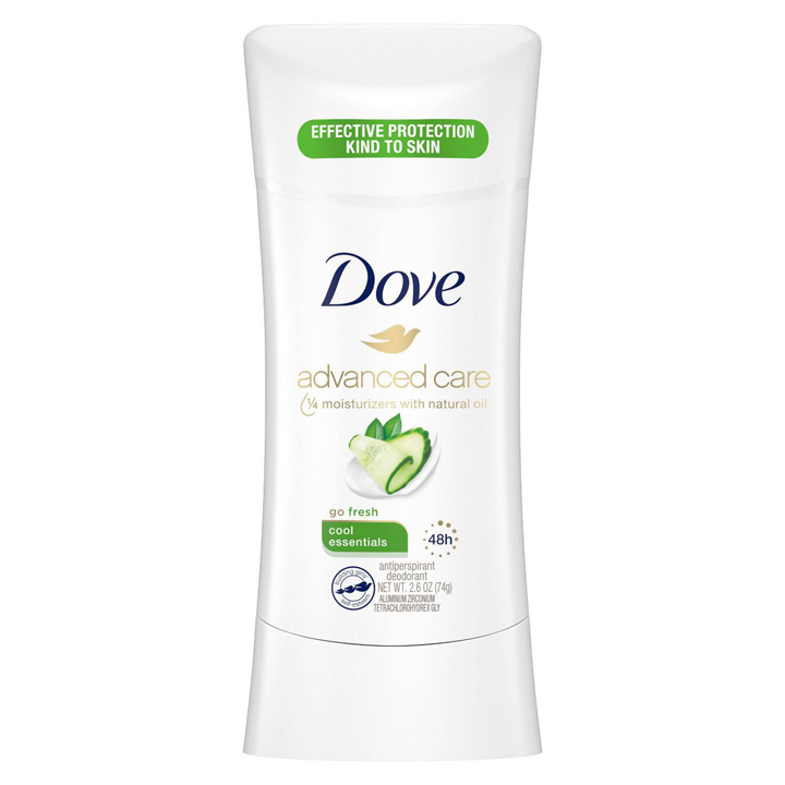 Khử mùi Dove Advanced Care Cool Essentials, 74g