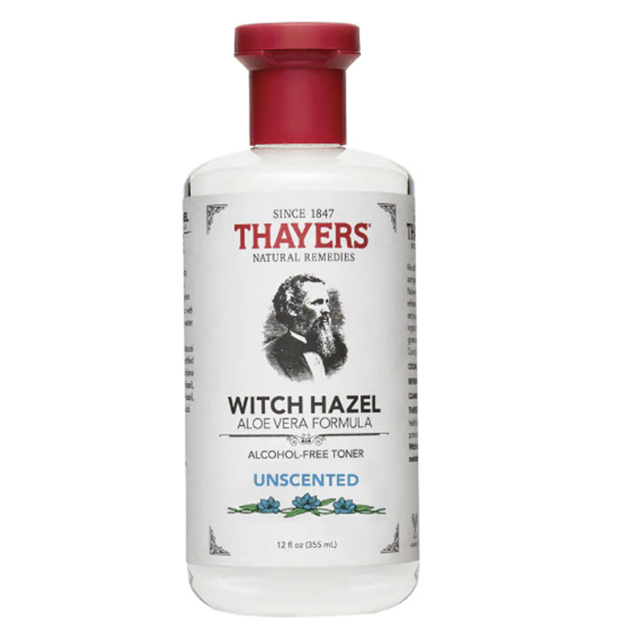 Toner Thayers Alcohol-Free Unscented Witch Hazel, 355ml