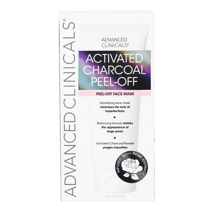 Mặt nạ Advanced Clinicals Activated Charcoal Peel Off, 101ml