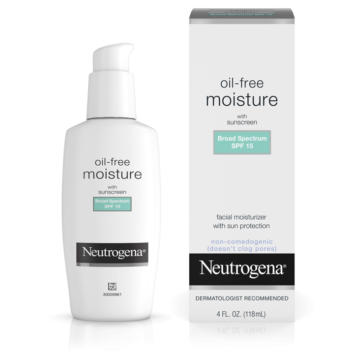 Neutrogena® Oil-Free Moisture Broad Spectrum SPF 15, 118ml