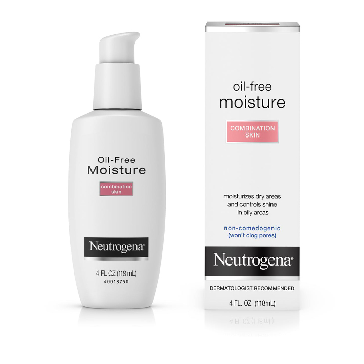Neutrogena® Oil-Free Moisture-Combination Skin, 118ml