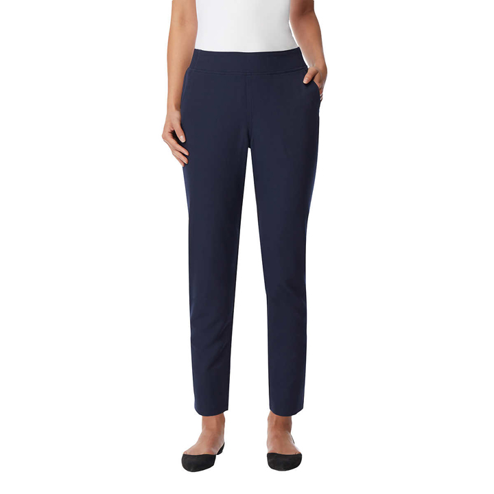 32 Degrees Ladies' Soft Comfort Pant - Hero Navy, size L