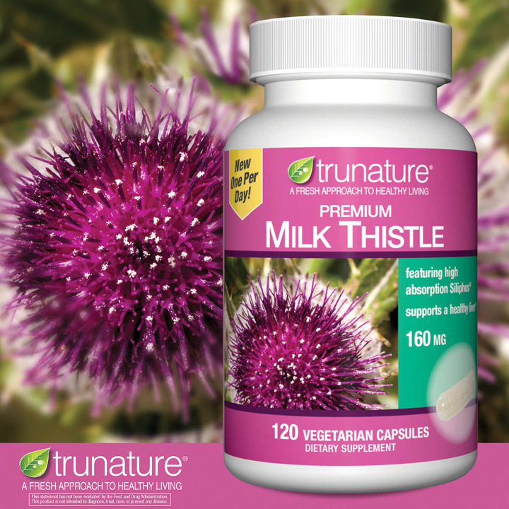 Trunature Premium Milk Thistle 160 mg, 120 viên
