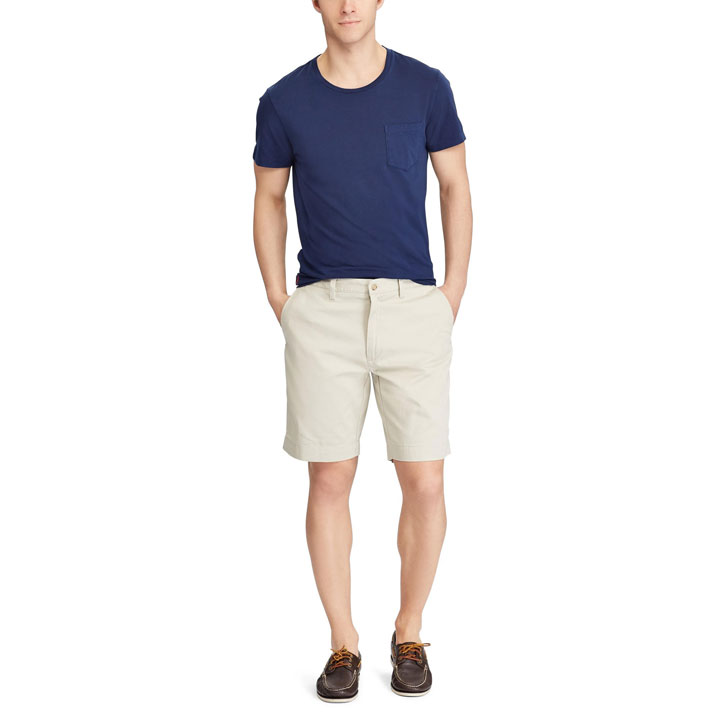 Polo Ralph Lauren Stretch Classic Fit Chino Shorts - Basic Sand, size 29