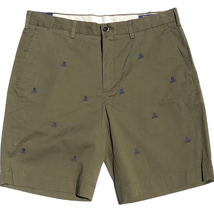 Polo Ralph Lauren Stretch Classic Fit Chino Shorts - Green, size 34