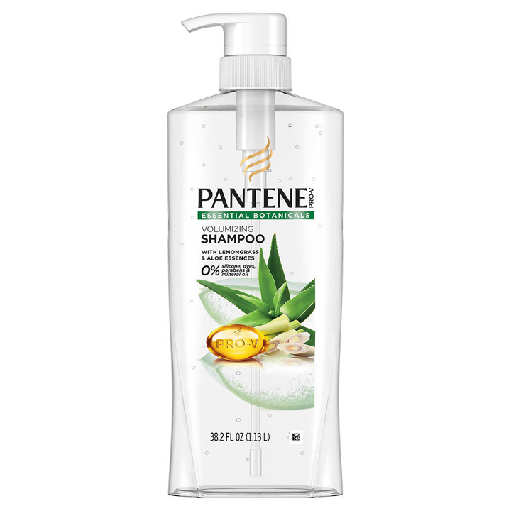 Dầu gội Pantene Essential Botanicals Volumizing - Lemongrass & Aloe, 1.13L