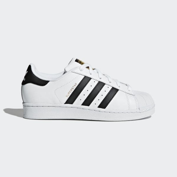 Adidas Youth Originals Superstar - Could White/ Could Black, Size 38