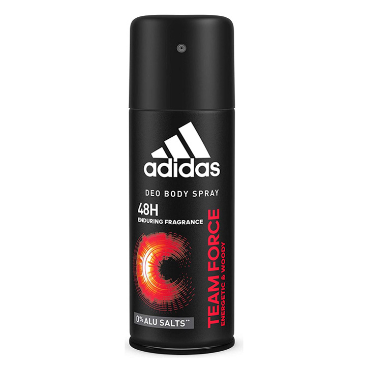 Xịt khử mùi Adidas 48h Team Force, 150ml